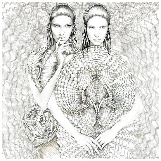 DIAMOND Fashion illustrtion