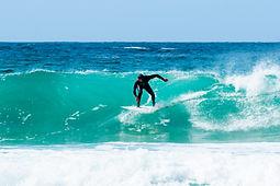surfing in Lewis