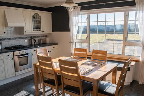 Cozy sunny kitchen