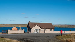 Self catering with loch view