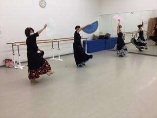 岐阜市でフラメンコ☆大垣セニョーラクラス
