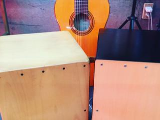 岐阜市でフラメンコ☆カンテにギターにカホン