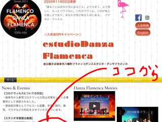 岐阜市でフラメンコ☆レッスン動画を見てね。