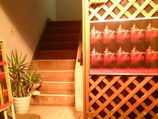 スタジオ入口をイメチェンです(^^)v
