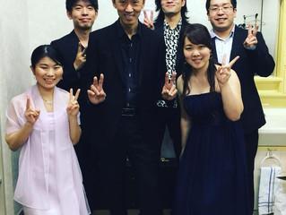 津軽三味線コンサートでコラボ