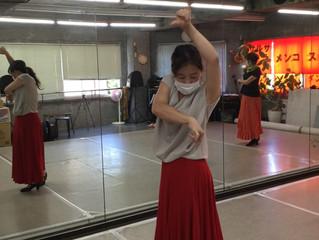 岐阜市でフラメンコ☆暑いけどフラメンコダンス