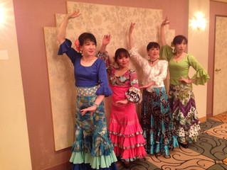 都ホテル岐阜でフラメンコショー