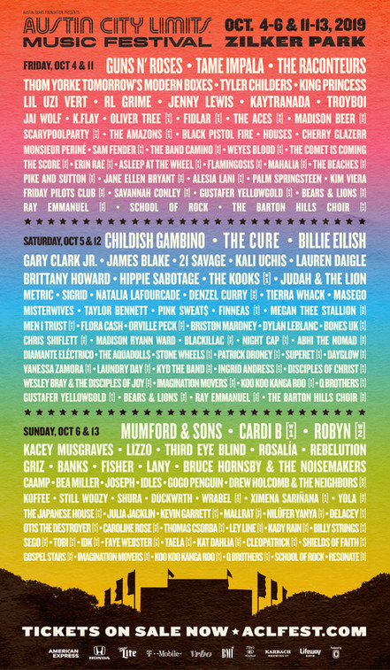 Playing Both Weekends of Austin City Limits Festival