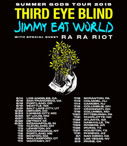 2019 Summer Tour Announced