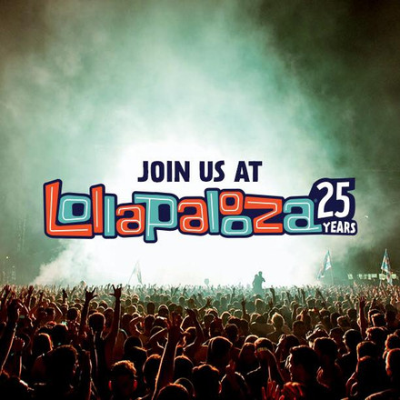JOIN US AT LOLLAPALOOZA