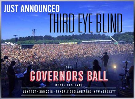 Governors Ball This June