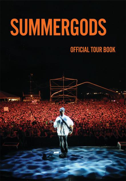 Limited Edition 20th Anniversary Summer Gods Tour Live Album & Tour Book Set