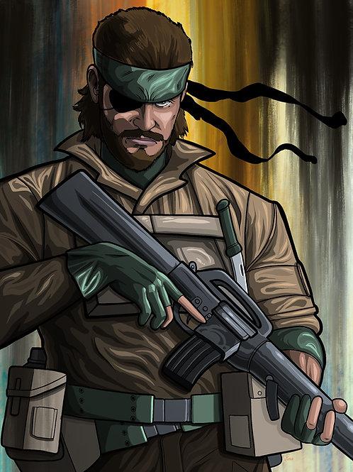 Big Boss, Metal Gear Solid