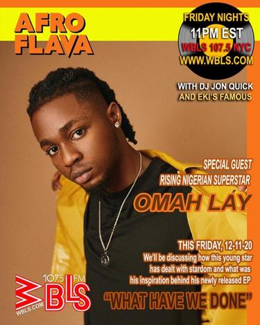 omah lay 12-11-20