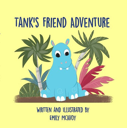 Tank's Friend Adventure Book