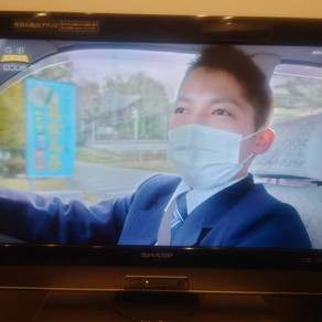 NHKから入電!神社に「地球タクシー」が来た!!