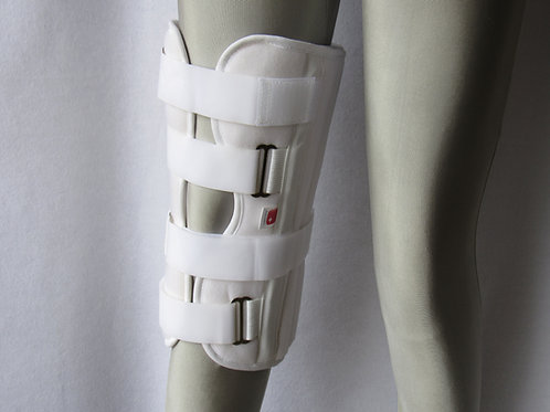 "1004  16"" DELUXE THREE PANEL KNEE IMMOBILIZER"