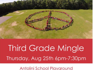 3rd Grade Mingle at Antolini School