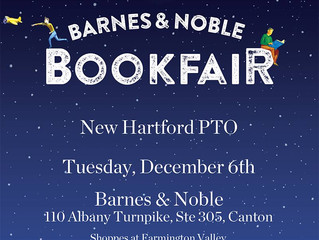 Top 10 Things to do at our Barnes & Noble Fundraiser on Dec 6th