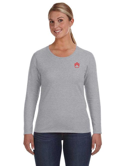 School Shirt Long Sleeve- Ladies