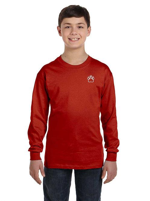 School Shirt Long Sleeve- Youth