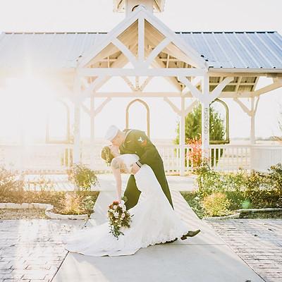 December Wedding in Atrium