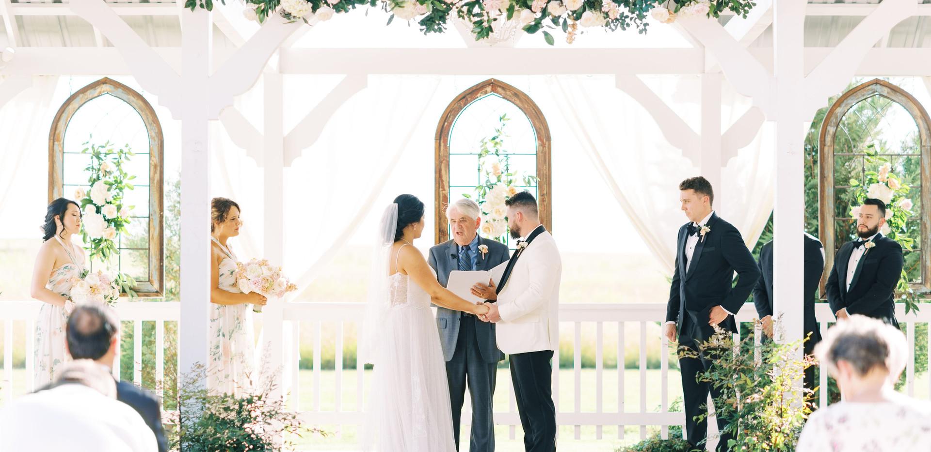Ceremony close up Tiffany & Brandon Madd