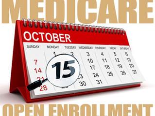 When is Medicare Open Enrollment?