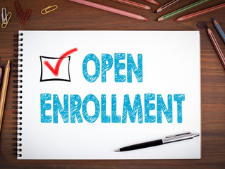 Open Enrollment for 2019 health plans starts November 1, 2018