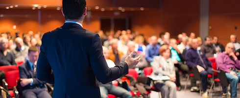 Speaker at Business Conference and Prese