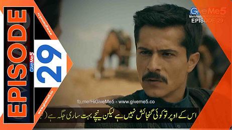 Mehmetcik Kutulamare episode 29 with Urdu Subtitles