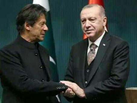 ترک صدر نے پاکستان کا دودہ منسوخ کردیا