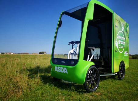 Asda trials innovative EAV final mile delivery eCargo vehicle