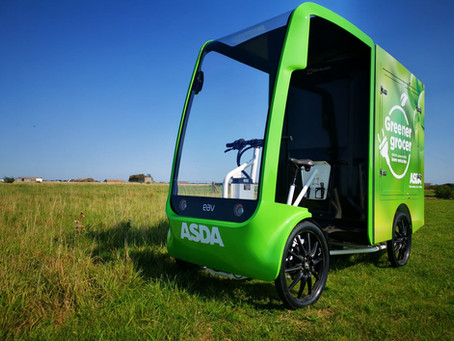 Asda trials innovative EAV final mile delivery eCargo vehicle