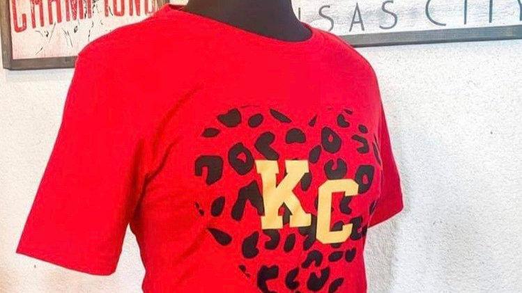 KC Leopard Heart