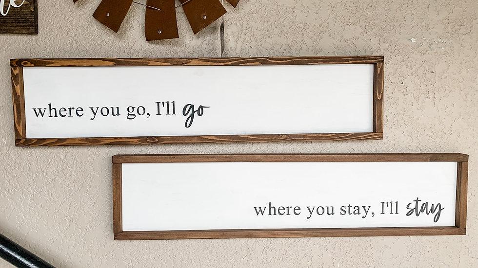 Where You Go Set