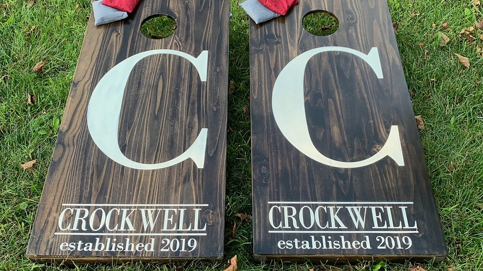 Personalized Cornhole