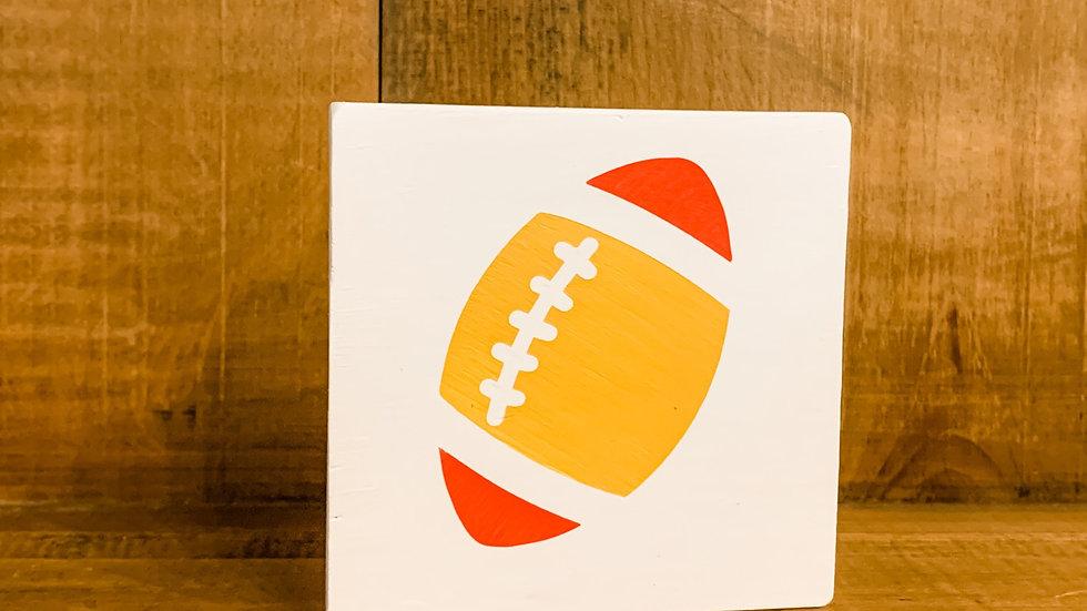 KC football 4 inch