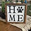 Thumbnail: HOME with paw print