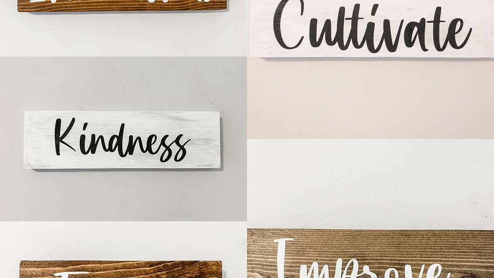 2021 Focus Word DIY kits