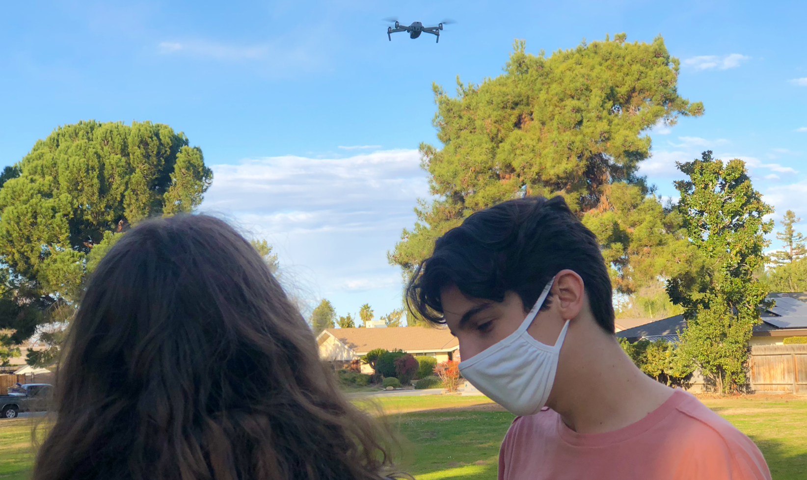 Mac with Drone