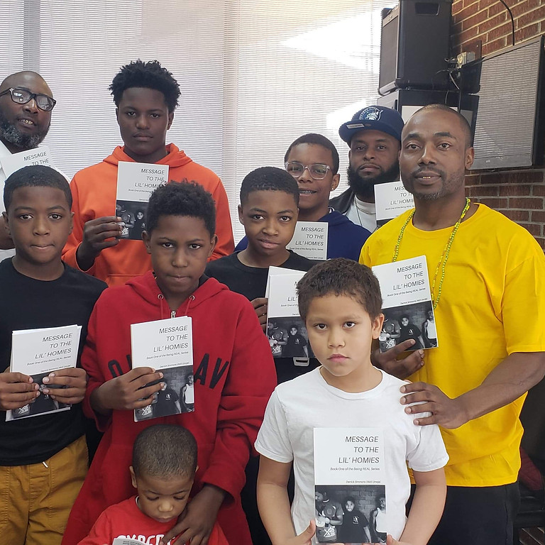 Conversations and Cuts With Writer/Publisher Derrick Simmons