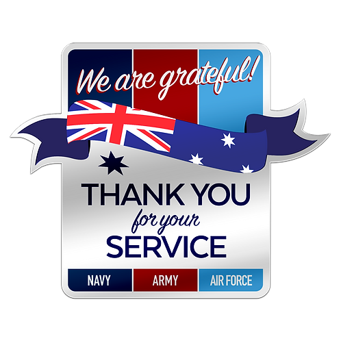 Stickers - Thank you for your Service
