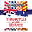 Thumbnail: Stickers - Thank you for your Service