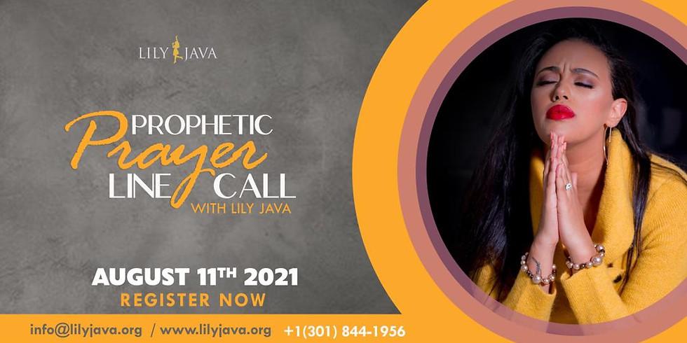 Prophetic Prayerline Call