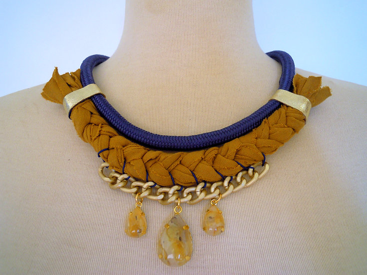 Royal Ethnic Statement Necklace