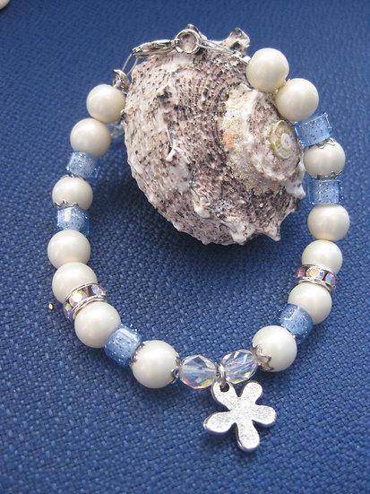 Light Blue & Perls Bracelet