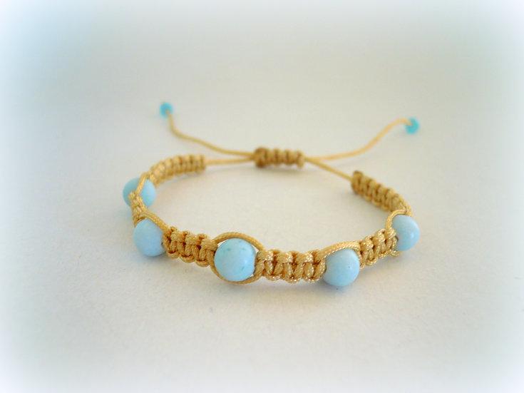 Beach Macrame Bracelet