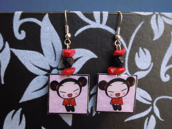 Puca Resin Earrings