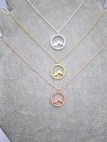 Single Mountain Necklace